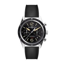 Bell & Ross BRV126-ST-HER/SRB Steel 2020 BR V1 43mm new