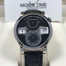 A. Lange & Söhne Zeitwerk 18K white gold black dial [NEW]