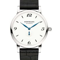 Montblanc 107073 Star Classique 39mm Automatic in Steel - on...
