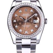 Rolex Datejust Bronze Floral 116200