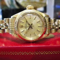 Rolex Oyster Perpetual Ref: 6917 18k Yellow Gold Watch Circa 1978