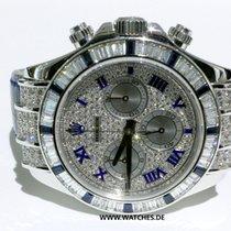 Rolex Oyster Perpetual Cosmograph Daytona White Gold Diamonds...