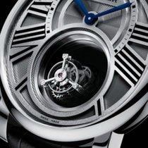 Cartier Платина Механические 45mm новые Rotonde de Cartier