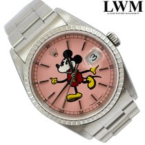 Rolex Datejust 16220 Pink Mickey Mouse dial 2003