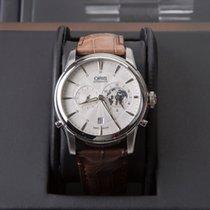 Oris Artelier Worldtimer new 2017 Automatic Watch with original box and original papers 01 690 7690 4081 Set LS Kroko