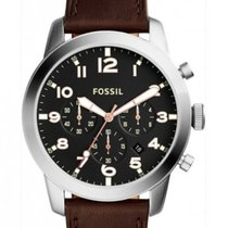 Fossil Steel 43mm Quartz FS5143 new
