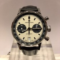 Hamilton Intra-Matic Staal 40mm Wit