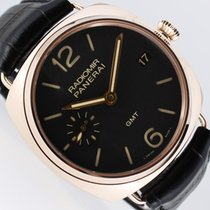 Panerai Radiomir 3 Days GMT Red gold 47mm Black Arabic numerals
