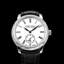 Ulysse Nardin Classico Steel 40mm White United States of America, California, San Mateo
