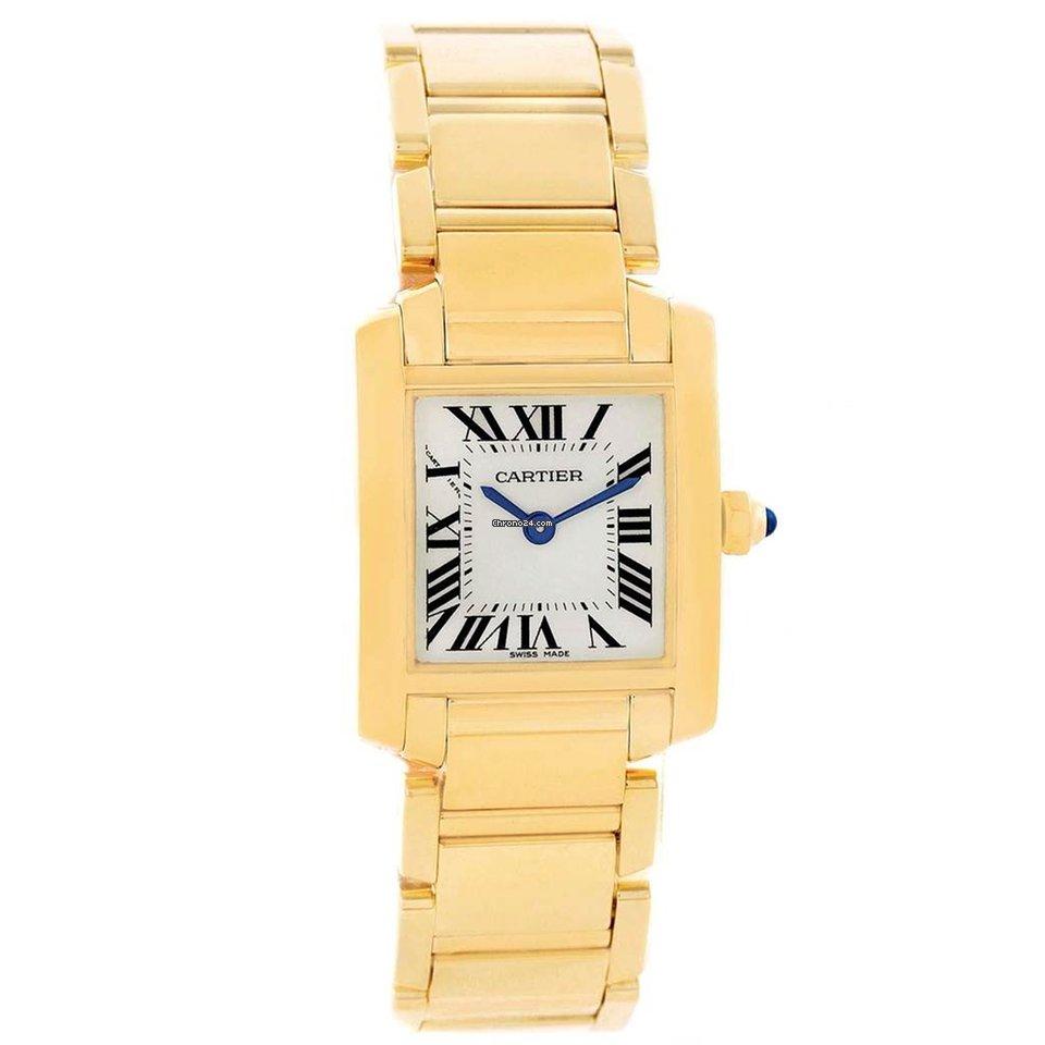 e593f09532e Cartier Tank Française Yellow gold - all prices for Cartier Tank Française  Yellow gold watches on Chrono24