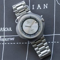 Omega Genève Steel 43mm Silver No numerals