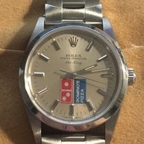 Rolex Steel 34mm Automatic Dominos Pizza Rolex Air King pre-owned United States of America, Pennsylvania, Philadelphia