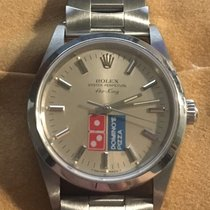 Rolex Acier 34mm Remontage automatique Dominos Pizza Rolex Air King occasion