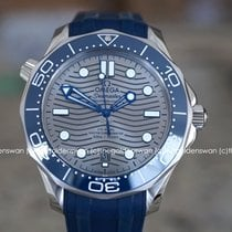 Omega Seamaster Diver 300 M Steel 42mm Grey No numerals United States of America, Massachusetts, Milford