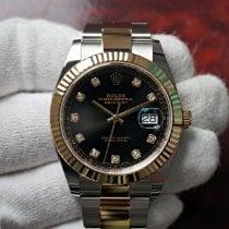 Rolex Or/Acier 41mm Remontage automatique 126333 nouveau