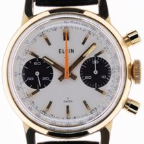 Elgin pre-owned Chronograph 31.5mm Silver