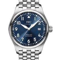 IWC IW327014 Steel Pilot Mark 40mm pre-owned