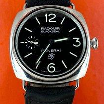Panerai Radiomir Black Seal Stahl 45mm Schwarz Arabisch