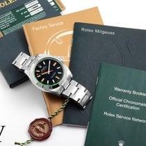 Rolex Milgauss tweedehands 40mm Zwart Staal