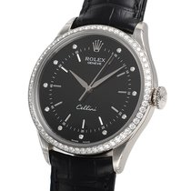 Rolex Cellini Time, Ref. 50709RBR - schwarzes Diamant ...
