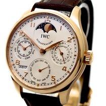 IWC Perpetual Calendar Ref-IW502306 Rose Gold Papers Bj-2014