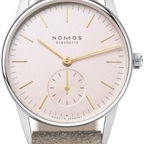 NOMOS 325 Rose Steel 2021 Orion 33 32.8mm new United States of America, New York, Airmont