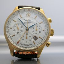 Paul Picot Gentleman Chronograph GMT 18K Rose Gold 42mm