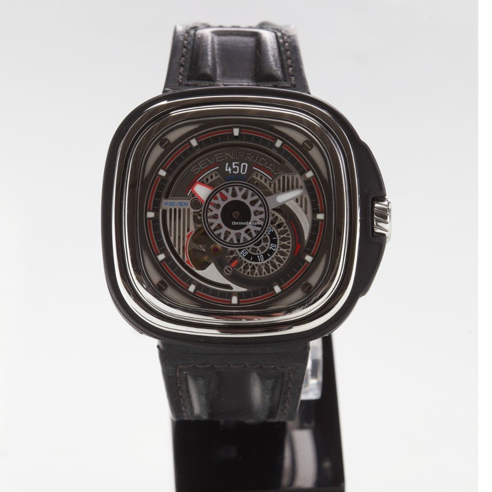 Sevenfriday P3-1 SEVENFRIDAY P3C/01 Hot Rod Limited Edition pre-owned