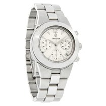 Concord Mariner Mens Silver Dial Swiss Chrono Automatic Watch...