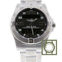 Breitling Professional Aerospace EVO Black Dial Full Titanium...