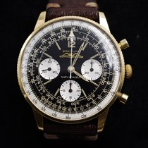 Breitling Very good Yellow gold Manual winding