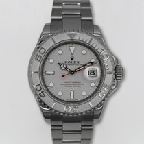 Rolex Yacht-Master 40 mm Steel and Platinum Ref# 16622pl B+P