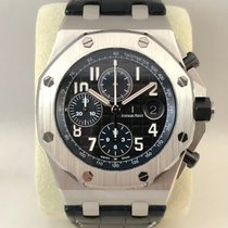 Audemars Piguet 26470ST.OO.A028CR.01 Staal 2018 Royal Oak Offshore Chronograph 42mm tweedehands Nederland, Kerkrade