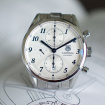 TAG Heuer Carrera Calibre 16 Steel 41mm Silver United States of America, Virginia, Sterling