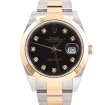 Rolex Datejust II Gold/Steel 41mm No numerals