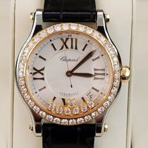 Chopard Gold/Steel 36mm Automatic 278559-6003 new