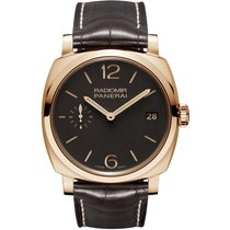 Panerai Radiomir 1940 3 Days Rose gold 47mm Brown Arabic numerals United States of America, New York, New York