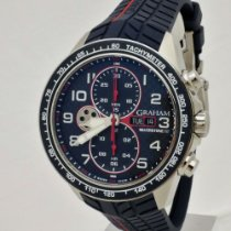 Graham Silverstone RS Acero 43mm Azul