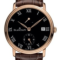 Blancpain 6614-3637-55B Red gold 2019 Villeret 42mm new