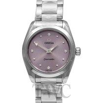 Omega Seamaster Aqua Terra Steel 28mm Purple