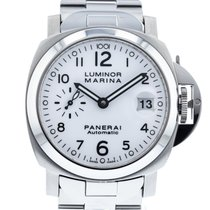 Panerai Luminor Marina Automatic Steel 40mm White
