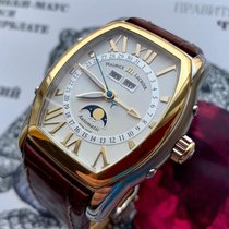 Maurice Lacroix Masterpiece Phases de Lune Gold/Steel White