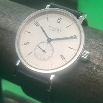 NOMOS Tangente pre-owned 37mm Leather