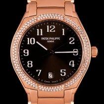 Patek Philippe Twenty~4 Złoto różowe 36mm Brązowy Arabskie