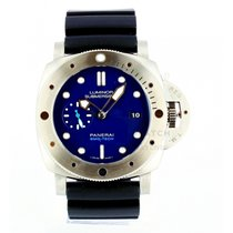 Panerai Luminor Submersible Steel 47mm Blue