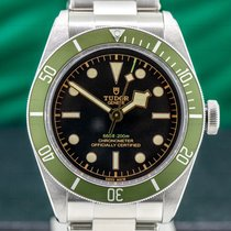 Tudor Black Bay 41mm Svart Arabiska