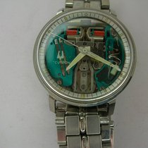 Bulova Steel 35mm Quartz rm1841 Bulova Accutron Spaceview pre-owned United States of America, California, Cathedral City