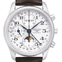 Longines Master Collection Stahl 40mm Weiß
