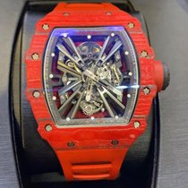 Richard Mille new Manual winding Skeletonized Display Back Limited Edition 48mm Carbon