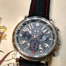 Cuervo y Sobrinos Torpedo new 2012 Automatic Chronograph Watch with original box and original papers 3045